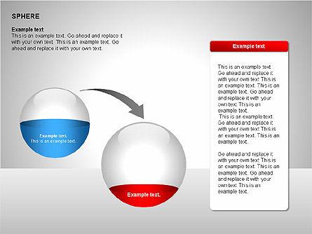 Sphere Diagrams, Slide 13, 00224, Stage Diagrams — PoweredTemplate.com