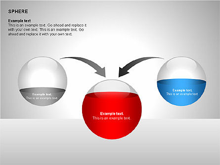 Sphere Diagrams, Slide 14, 00224, Stage Diagrams — PoweredTemplate.com