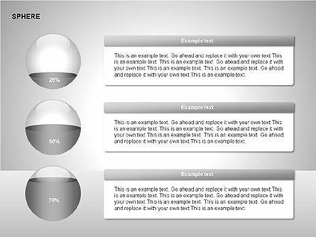 Sphere Diagrams, Slide 15, 00224, Stage Diagrams — PoweredTemplate.com