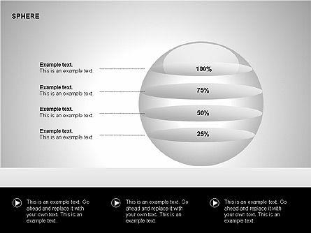 Sphere Diagrams, Slide 5, 00224, Stage Diagrams — PoweredTemplate.com