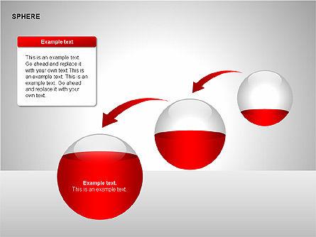 Sphere Diagrams, Slide 8, 00224, Stage Diagrams — PoweredTemplate.com