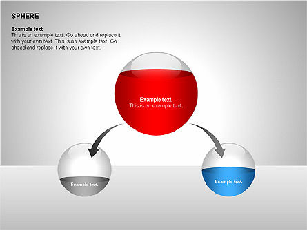Sphere Diagrams, Slide 9, 00224, Stage Diagrams — PoweredTemplate.com