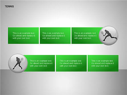 Free Tennis Silhouettes , Slide 12, 00225, Silhouettes — PoweredTemplate.com