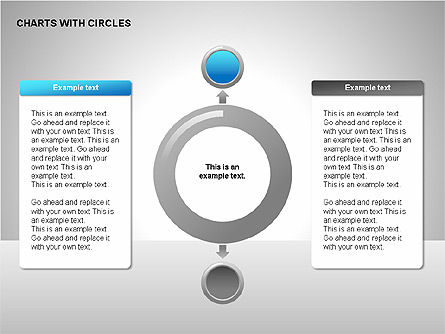 Flow Charts: Flow Charts with Circles #00229