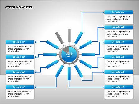 Steering Wheel Charts, Slide 11, 00230, Stage Diagrams — PoweredTemplate.com