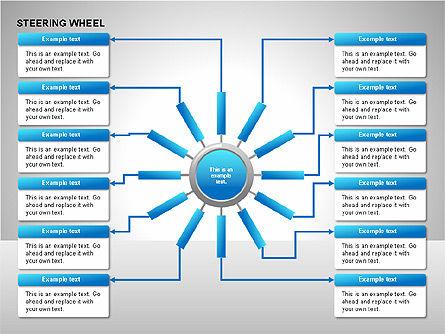 Steering Wheel Charts, Slide 13, 00230, Stage Diagrams — PoweredTemplate.com