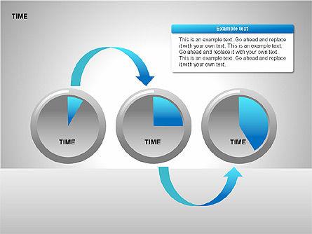 Steering Wheel Charts, Slide 15, 00230, Stage Diagrams — PoweredTemplate.com
