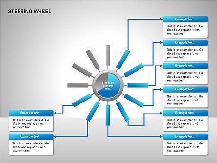 Steering Wheel Charts, Slide 9, 00230, Stage Diagrams — PoweredTemplate.com