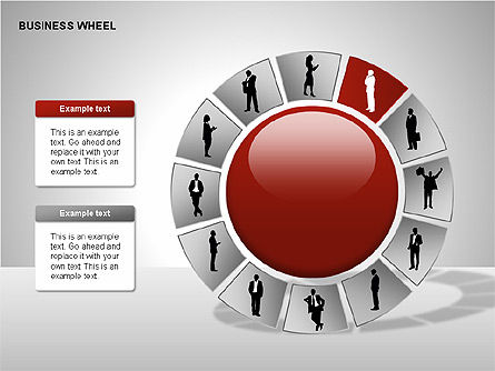 Business Wheel Diagrams