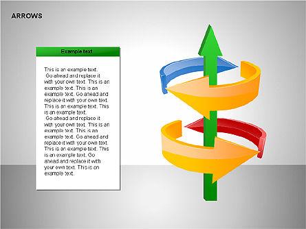 Interaction Arrows Collection Diagrams, Slide 14, 00237, Shapes — PoweredTemplate.com