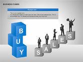 Business Cubes Diagrams#11