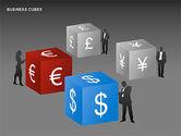 Business Cubes Diagrams#14