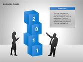 Business Cubes Diagrams#7