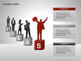 Business Cubes Diagrams#9