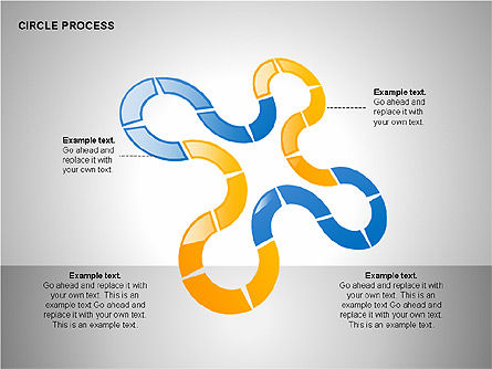 Process Diagrams: Circle Process Toolbox #00242