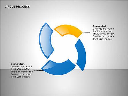 Circle Process Toolbox, Slide 10, 00242, Process Diagrams — PoweredTemplate.com
