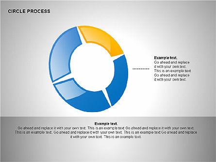Circle Process Toolbox, Slide 11, 00242, Process Diagrams — PoweredTemplate.com