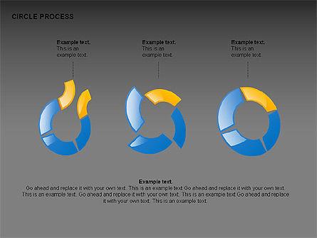 Circle Process Toolbox, Slide 12, 00242, Process Diagrams — PoweredTemplate.com