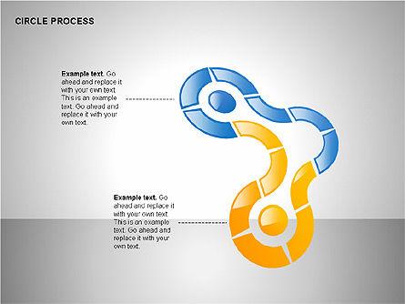 Circle Process Toolbox, Slide 13, 00242, Process Diagrams — PoweredTemplate.com