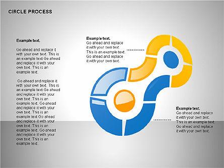 Circle Process Toolbox, Slide 7, 00242, Process Diagrams — PoweredTemplate.com
