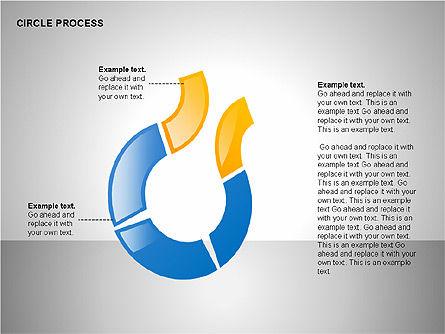 Circle Process Toolbox, Slide 9, 00242, Process Diagrams — PoweredTemplate.com