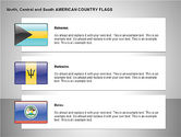 Free North Central and South America Countries Flags#2