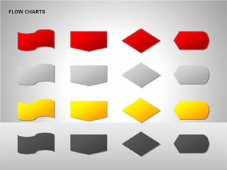 Flow Chart Tools, Slide 13, 00246, Flow Charts — PoweredTemplate.com