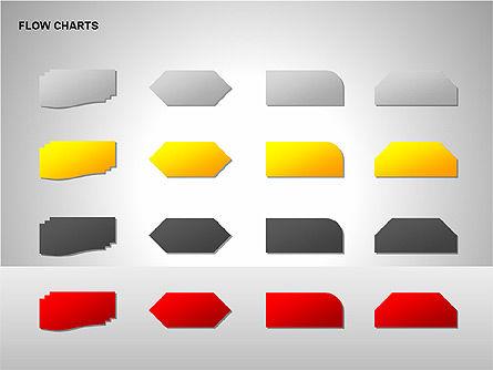 Flow Chart Tools, Slide 14, 00246, Flow Charts — PoweredTemplate.com