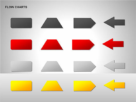 Flow Chart Tools, Slide 15, 00246, Flow Charts — PoweredTemplate.com