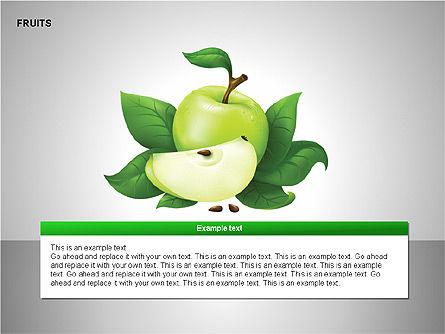 Free Fruits Collection, Slide 10, 00247, Shapes — PoweredTemplate.com