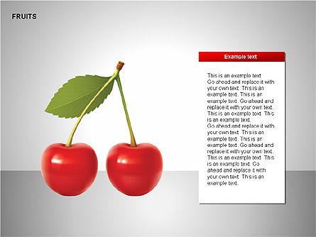 Free Fruits Collection, Slide 12, 00247, Shapes — PoweredTemplate.com