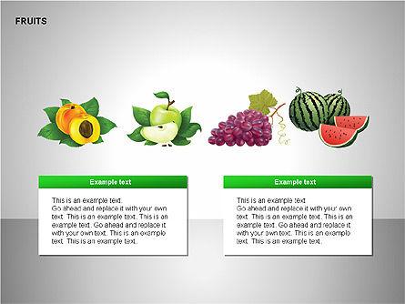 Free Fruits Collection, Slide 13, 00247, Shapes — PoweredTemplate.com