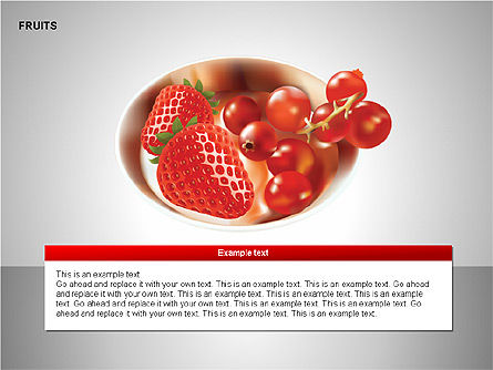 Free Fruits Collection, Slide 14, 00247, Shapes — PoweredTemplate.com