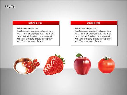 Free Fruits Collection, Slide 15, 00247, Shapes — PoweredTemplate.com