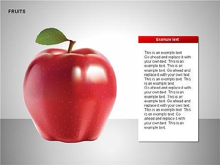 Free Fruits Collection, Slide 5, 00247, Shapes — PoweredTemplate.com