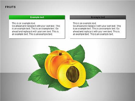 Free Fruits Collection, Slide 7, 00247, Shapes — PoweredTemplate.com