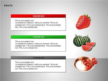 Free Fruits Collection, Slide 8, 00247, Shapes — PoweredTemplate.com
