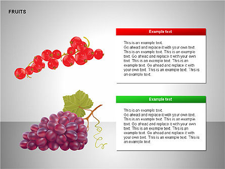 Free Fruits Collection, Slide 9, 00247, Shapes — PoweredTemplate.com