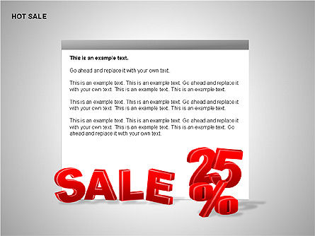 Free Hot Sale Shapes Collection, Slide 12, 00248, Shapes — PoweredTemplate.com