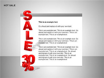 Free Hot Sale Shapes Collection, Slide 13, 00248, Shapes — PoweredTemplate.com