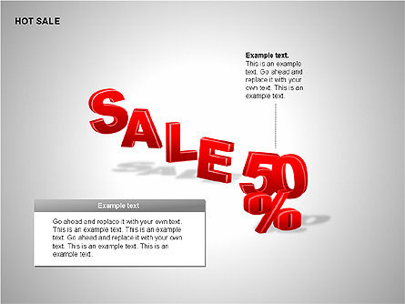 Free Hot Sale Shapes Collection, Slide 14, 00248, Shapes — PoweredTemplate.com