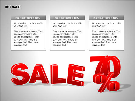 Free Hot Sale Shapes Collection, Slide 15, 00248, Shapes — PoweredTemplate.com