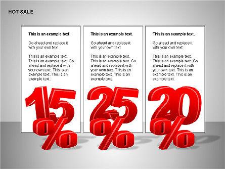 Free Hot Sale Shapes Collection, Slide 5, 00248, Shapes — PoweredTemplate.com