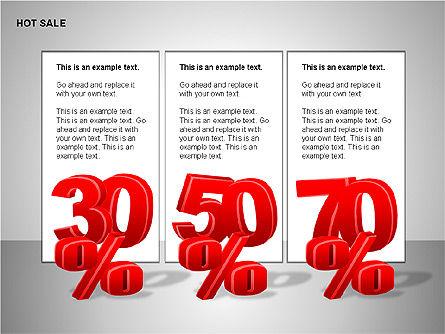 Free Hot Sale Shapes Collection, Slide 6, 00248, Shapes — PoweredTemplate.com