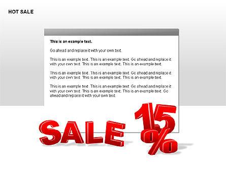 Free Hot Sale Shapes Collection, Slide 8, 00248, Shapes — PoweredTemplate.com