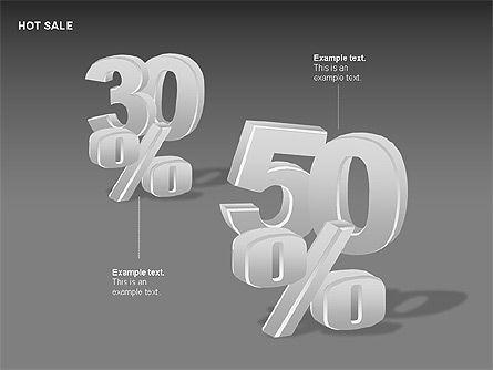 Free Hot Sale Shapes Collection, Slide 9, 00248, Shapes — PoweredTemplate.com