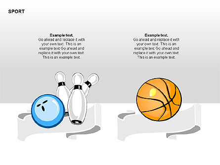 Free Sports Shapes Collection, 00255, Silhouettes — PoweredTemplate.com