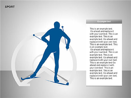 Free Sports Shapes Collection, Slide 11, 00255, Silhouettes — PoweredTemplate.com