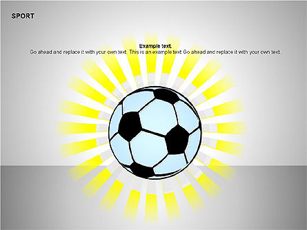 Free Sports Shapes Collection, Slide 15, 00255, Silhouettes — PoweredTemplate.com