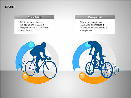 Free Sports Shapes Collection, Slide 9, 00255, Silhouettes — PoweredTemplate.com